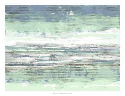 Seascape Striations II-Jennifer Goldberger-Giclee Print