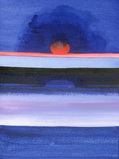 Seascape, Sunset, Helsinki, 1991-Izabella Godlewska de Aranda-Giclee Print