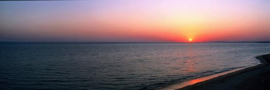 Seascape the Algarve Portugal--Photographic Print