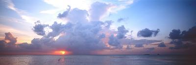 Seascape the Maldives--Photographic Print