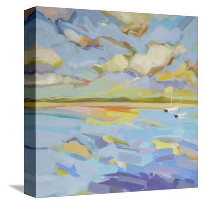 Seascape Triptych (right)-Kim McAninch-Stretched Canvas Print