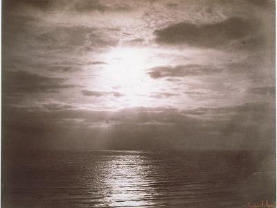 Seascape: Vue de Mer, Le Soleil-Gustave Le Gray-Giclee Print