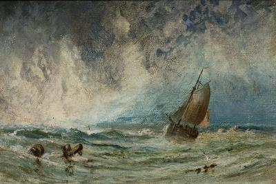 Seascape with Ship-Charles George-Giclee Print