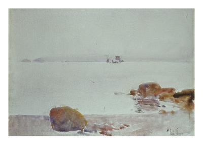 Seascape-Childe Hassam-Giclee Print