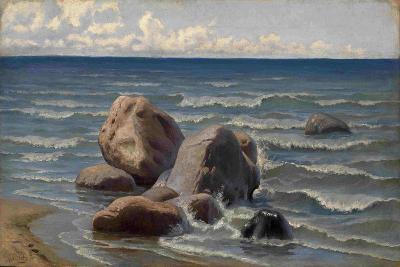 Seascape-Yefim Yefimovich Volkov-Giclee Print