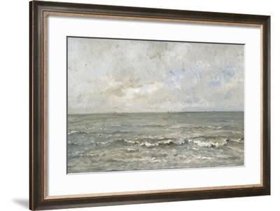 Seascape-Charles Francois Daubigny-Framed Art Print