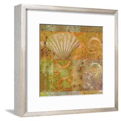 Seashell Collage-Pierre Fortin-Framed Art Print