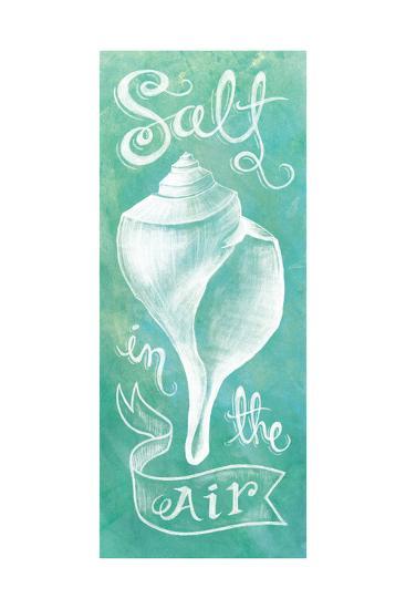 Seashell-Mary Urban-Art Print