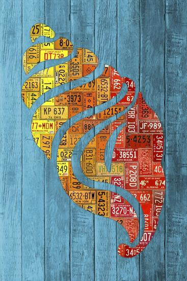 Seashell-Design Turnpike-Giclee Print