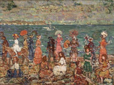 Seashore, C.1913-Maurice Brazil Prendergast-Giclee Print