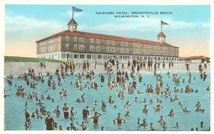 Seashore Hotel, Wrightsville Beach, Wilmington, North Carolina