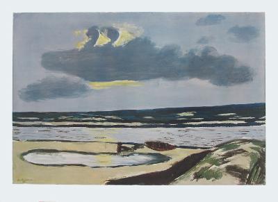 Seashore-Max Beckmann-Collectable Print