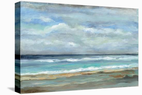 Seashore-Silvia Vassileva-Stretched Canvas Print