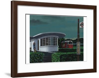 Seaside Affair, 2007-Christopher Noulton-Framed Giclee Print