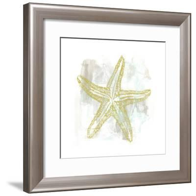Seaside Blockprints IV-June Vess-Framed Art Print