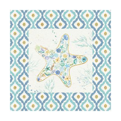 Seaside Blossoms II Border no Words-Jess Aiken-Art Print