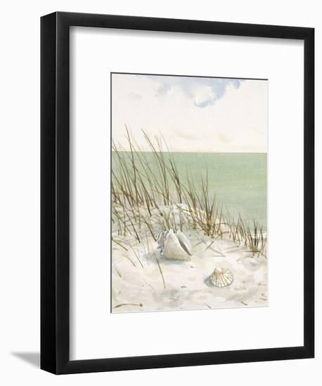 Seaside Bluff  -Arnie Fisk-Framed Art Print