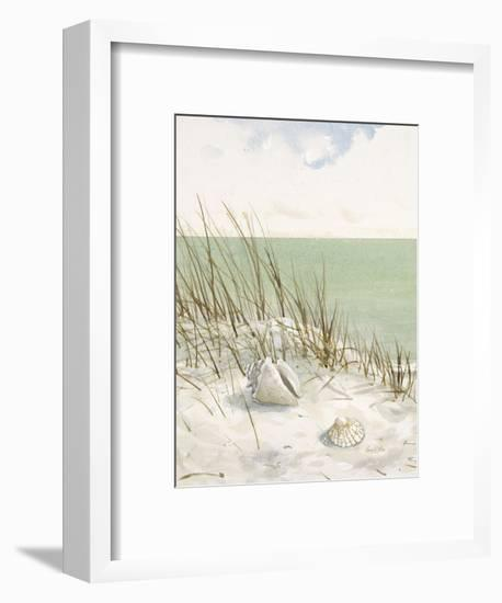 Seaside Bluff-Arnie Fisk-Framed Art Print