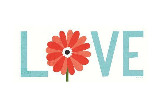 Seaside Bouquet Love-Michael Mullan-Art Print