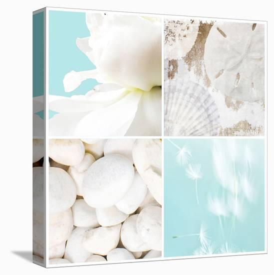 Seaside Collection--Stretched Canvas Print