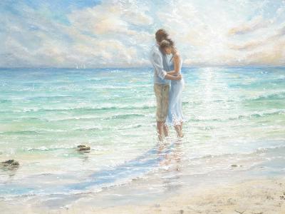 Seaside Embrace-Karen Wallis-Art Print