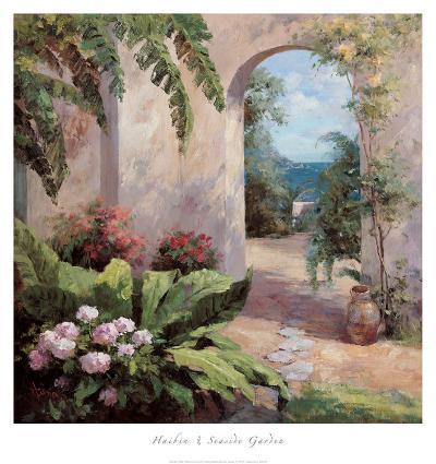Seaside Garden-Haibin-Art Print