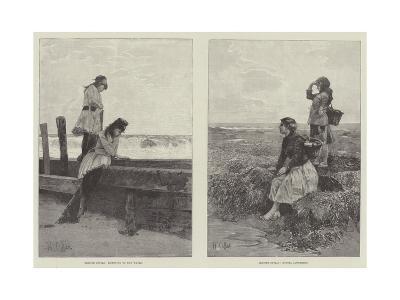 Seaside Idylls-Hector Caffieri-Giclee Print