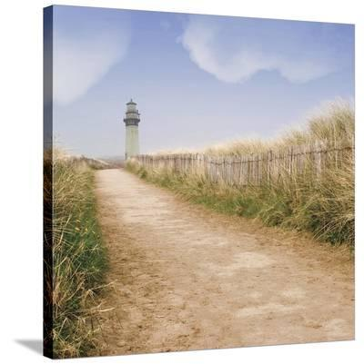 Seaside II (middle image)-Judy Mandolf-Stretched Canvas Print