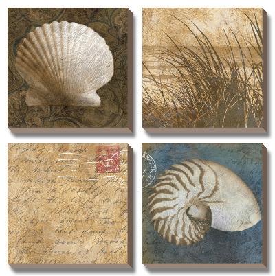 Seaside Memories I-Keith Mallett-Canvas Art Set