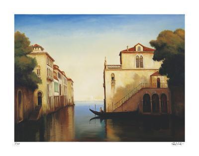 Seaside on the Amalfi Coast-Robert White-Giclee Print