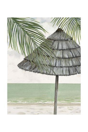 Seaside Palapa-Arnie Fisk-Art Print