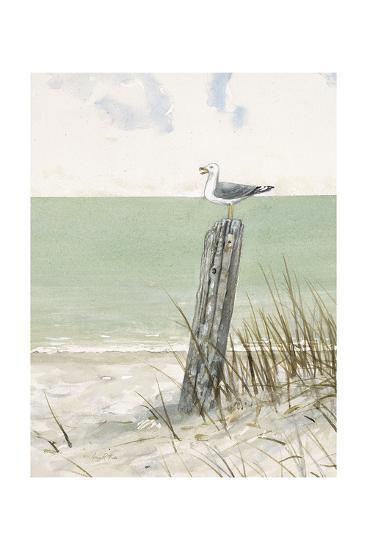 Seaside Perch-Arnie Fisk-Art Print