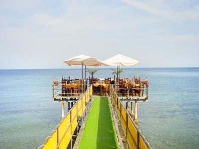 Seaside Restaurant, Corfu, Greece, Europe-Craig Easton-Photographic Print