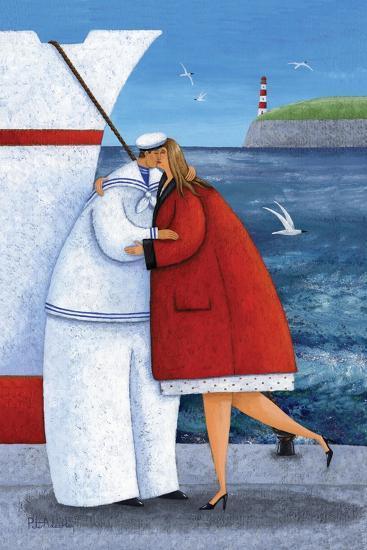 Seaside Reunion-Peter Adderley-Art Print