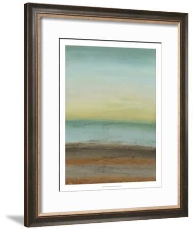Seaside Serenity II-June Vess-Framed Premium Giclee Print