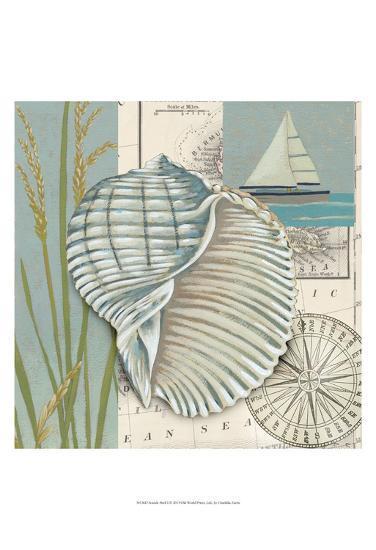 Seaside Shell I-Chariklia Zarris-Art Print