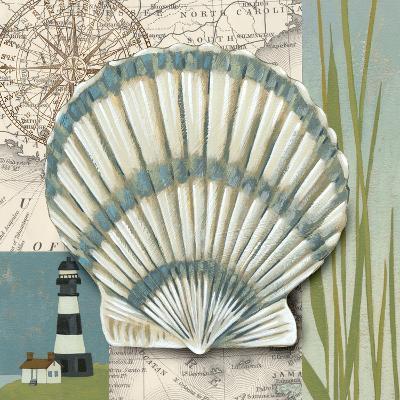 Seaside Shell II-Chariklia Zarris-Art Print