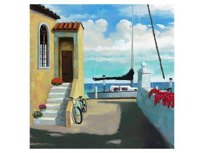 Seaside Steps-Kurt Novak-Art Print