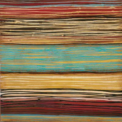 Seaside Stripes II-Susan Hayes-Art Print
