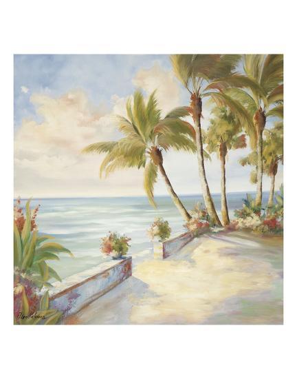 Seaside Stroll-Marc Lucien-Art Print