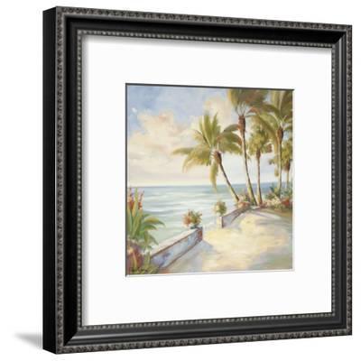 Seaside Stroll-Marc Lucien-Framed Art Print