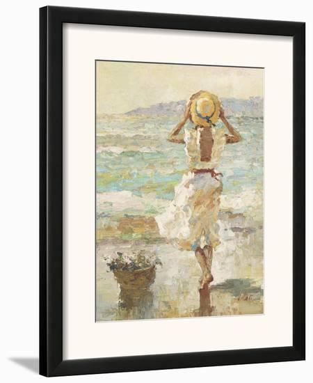 Seaside Summer I-Vitali Bondarenko-Framed Art Print