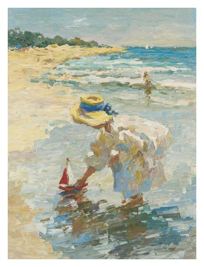 Seaside Summer II-Vitali Bondarenko-Art Print