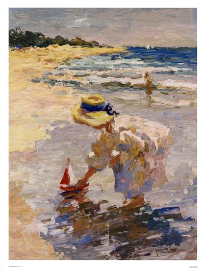 Seaside Summer II-Vitali Bondarenko-Art Print
