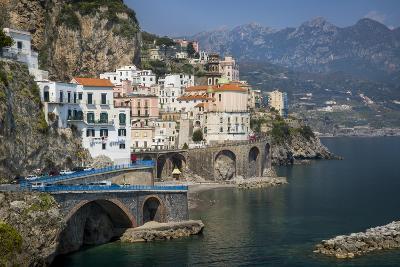 Seaside Town of Atrani Near Amalfi, Campania, Italy-Brian Jannsen-Photographic Print