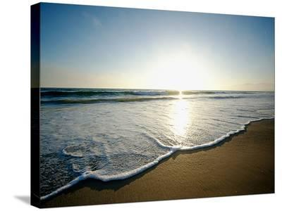 Seaside Tranquility-AJ Messier-Stretched Canvas Print