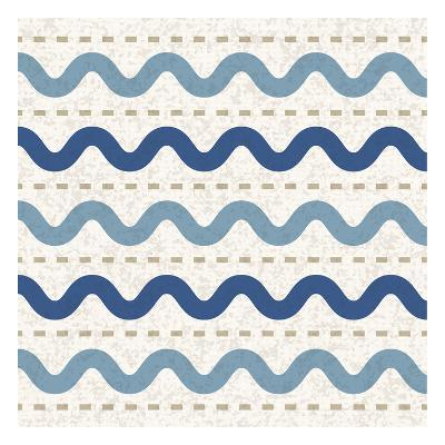Seaside Waves-Melody Hogan-Art Print