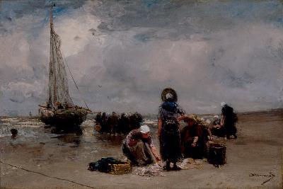 Seaside-Bernardus Johannes Blommers-Giclee Print