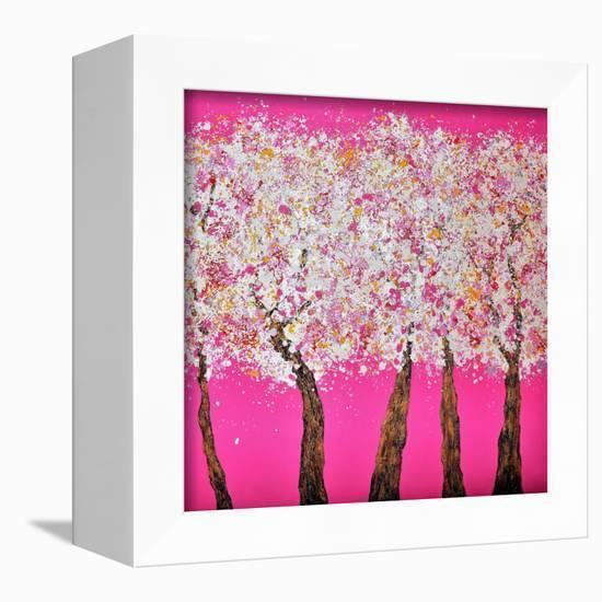 Season II-Hyunah Kim-Framed Stretched Canvas Print