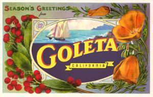 Season's Greetings from Goleta, California